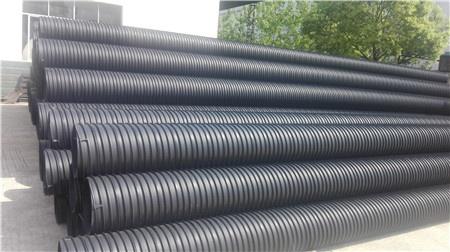 HDPE聚乙烯竖钢缠绕管