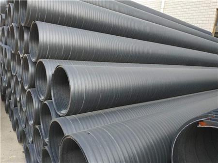 聚乙烯HDPE中空壁增强缠绕管